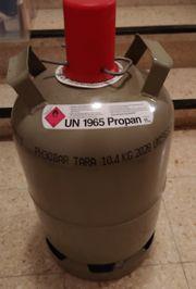 Propangas-Tauschflasche 11kg grau voll