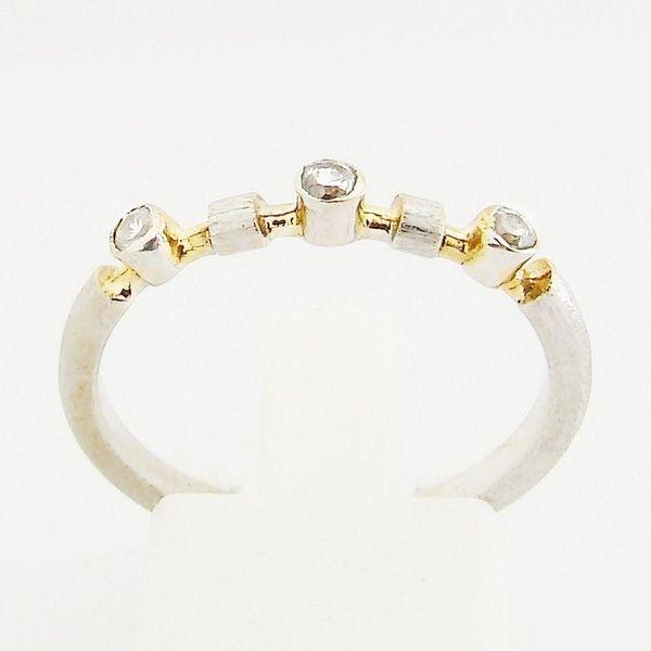 Ring Gold 333er Zirkone 8