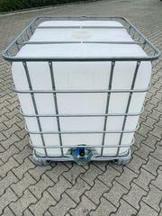 Regenwassertank - 1000 Liter IBC Container -
