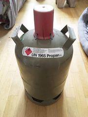 Propan-Gas-Flaschen UN1965 Propan 11kg leer