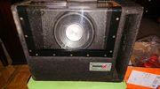 Novex subwoofer bassbox 1000w basskiste