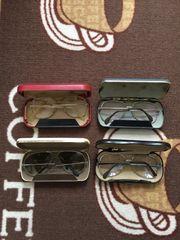 Brillen alt mit Etui verschieden