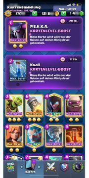 Clash Royale LV13 39Max Karten