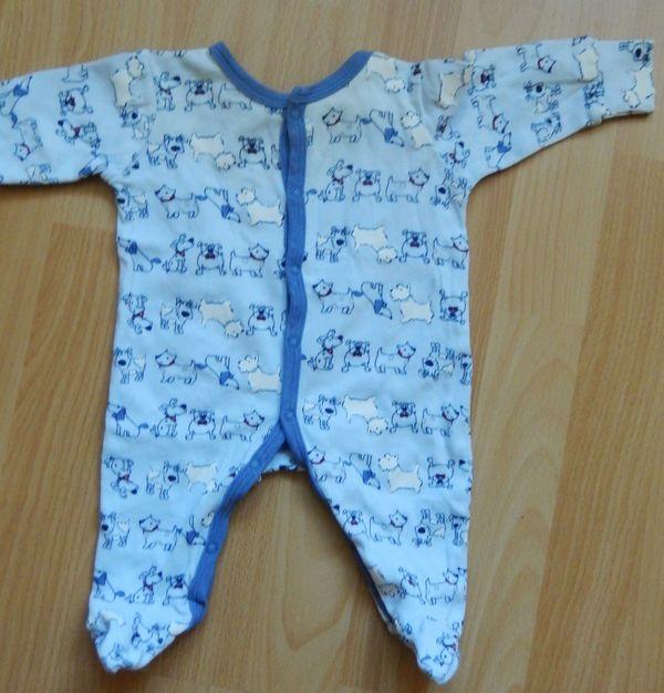 Strampel Schlafanzug Gr 50 56