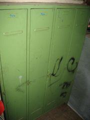 Spind Metallschrank 4 Türen