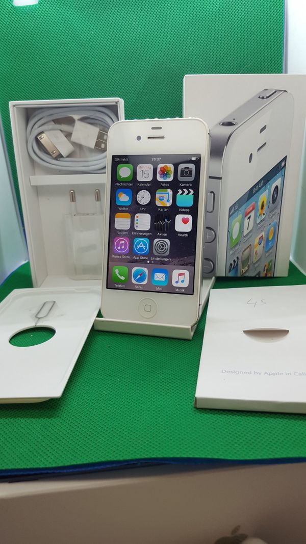 Apple iPhone 4S - 16GB - WEISS