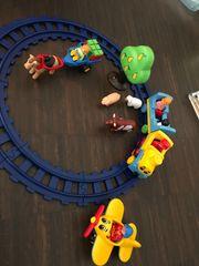 1-2-3 Playmobil Eisenbahn