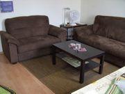 Moderne Couchgarnitur 2er und 3er