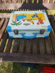 Vintage Koffer Sesamstraße Sesame Street