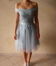 Abendkleid Cocktailkleid Abschlussball-Kleid Grösse XS