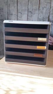 Leitz Schubladenbox Ablagebox Register