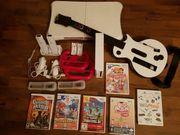 Nintendo Wii mit viel Zubehör