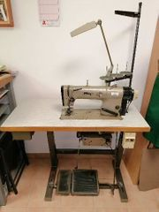 Flachstepp-Nähmaschine