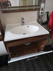 Badmöbelset inkl Waschbecken und Armatur