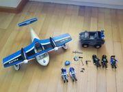 Playmobil Wasserflugzeug Polizei Auto