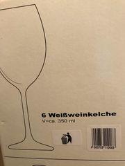 Weiswein Gläser