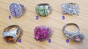 Div Ringe siehe Abbildungen und