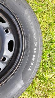 Reifen mit Felgen VW