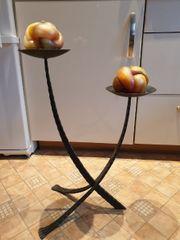 schmiedeisener Kerzenständer 2 Kerzen