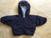 Winterjacke für Baby Größe 56