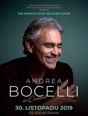 Andrea Bocelli Konzert im Prag -