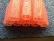 Lockenwickler - Haftlockenwickler - Haftwickler - 12 Stück - rosa