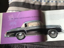 Literatur, Betriebsanleitungen - Mercedes Prospekt von 1957 220