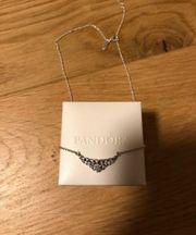 Pandora tiara halskette damen