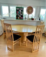 Esstisch Tisch Stühle Set - Ausziehbar