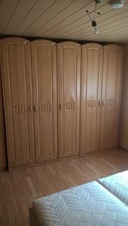 Schlafzimmerschrank Kleiderschrank Schiebetüren Schrank Komode -