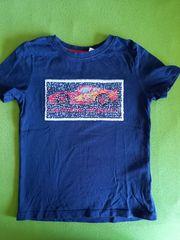 T-Shirt dunkelblau Gr 110 116