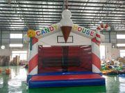 Hüpfburg Candy House mieten leihen