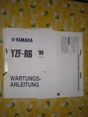 Yamaha YZF R6 Wartungsanleitung