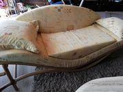 Sofa - Rattansofa - Unikat Top Zustand