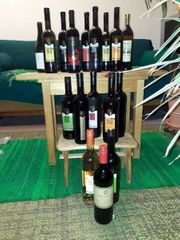 Wein kostbar 18 Flaschen