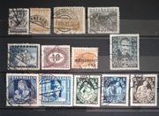 Österreich 1930 - 1937 gestempelt 13