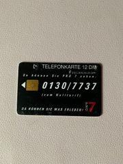 Alte Telefonkarte
