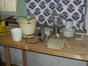 Küchenmaschine mit umfangreichem Zubehör
