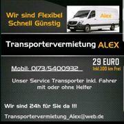 Transporter mieten 4 Euro