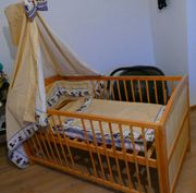 Massivholz Kinderbett 2 - 8 Jahre