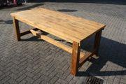 Esstisch Tisch Schreibtisch Holz Teak