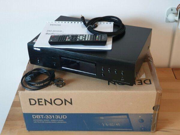 Denon DBT-3313UD Universal BluRay HighEnd Player DenonLink HD schwarz