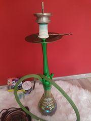 Grüne shisha