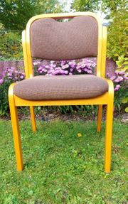 4 Massivholz-Stühle von Brunner