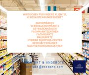 Wir suchen Einkaufscenter Handelsimmobilien im