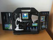 Mikroskop-Set im Koffer für Kinder
