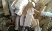 Fichtenholz Ofen fertig