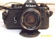 Nikon EM Spiegelreflexkamera incl Zubehör
