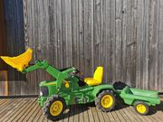 Trettraktor John Deer Rolly Toys