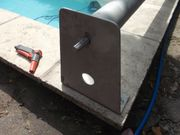 Aufroller für Poolfolie - Stange aus